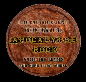 A Rock Medal